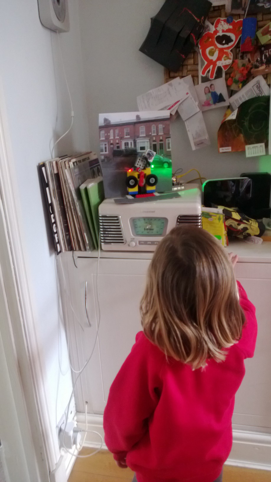 Cycling Indicator MkII – for the entertainment of a 4 yr old (of course)…